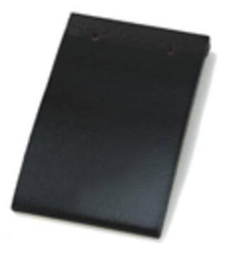 Wienerberger Pottelberg 301 Black Glazed 738 / Aalbeke